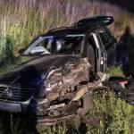 Verkehrsunfall in Sauggern