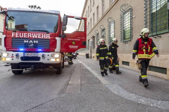 Haftraumbrand in der Justizanstalt Krems