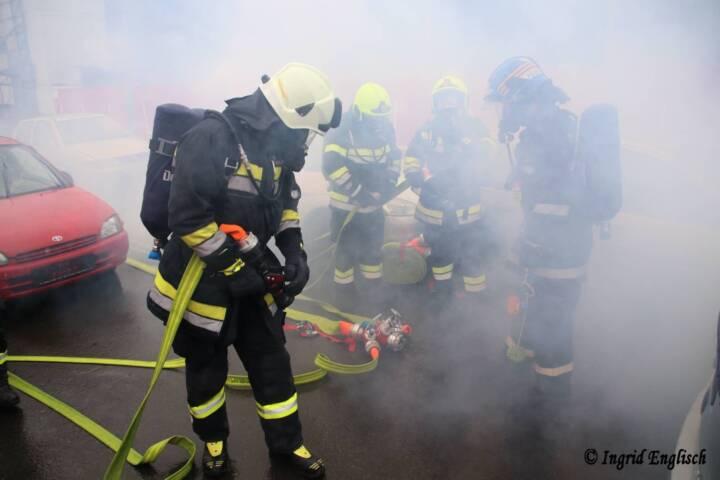 Erstmaliger Lehrgang Tunnelbrand im Burgenland