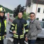 Katastrophenszenario nach Unwetter im Bezirk Krems