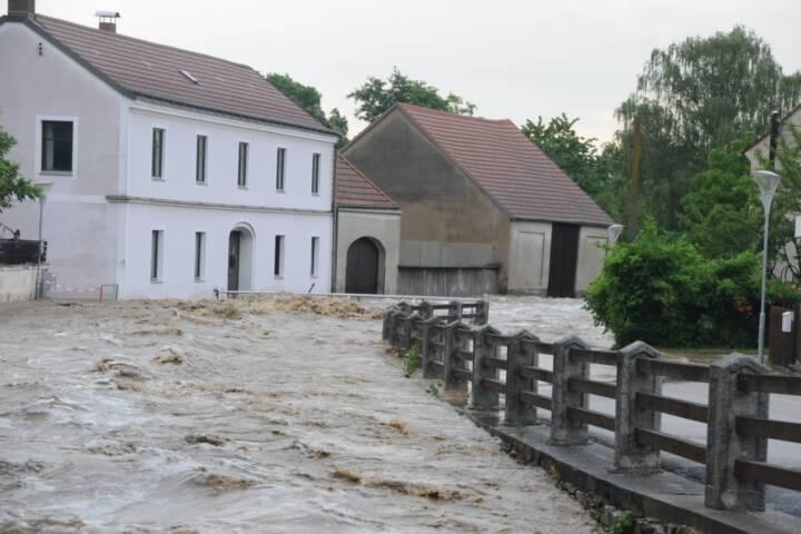 Lage im Katastrophengebiet
