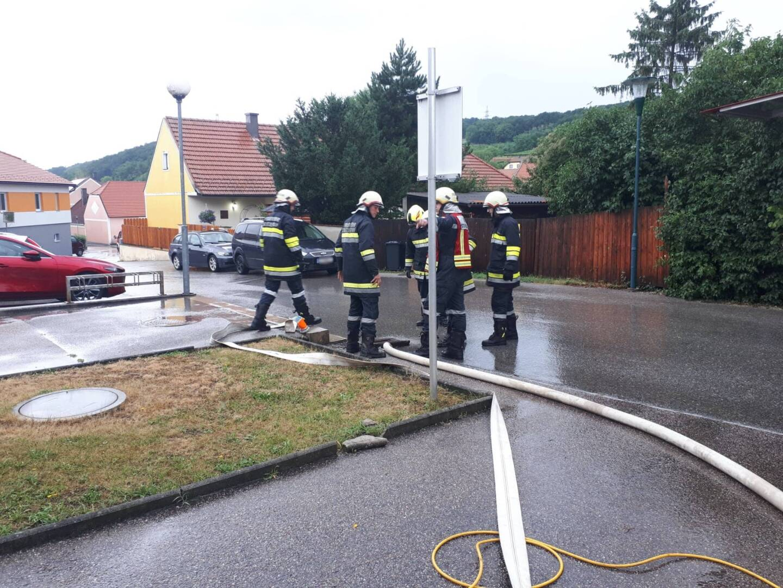 Hochwassereinsätze im Fladnitztal