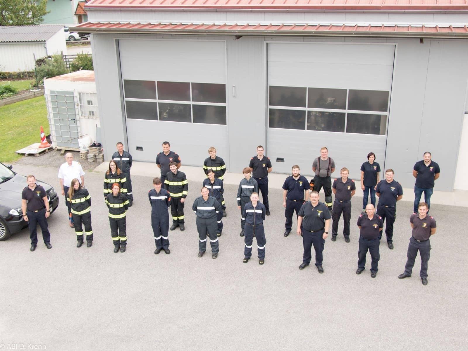Feuerwehrausbildung auf Bezirksebene