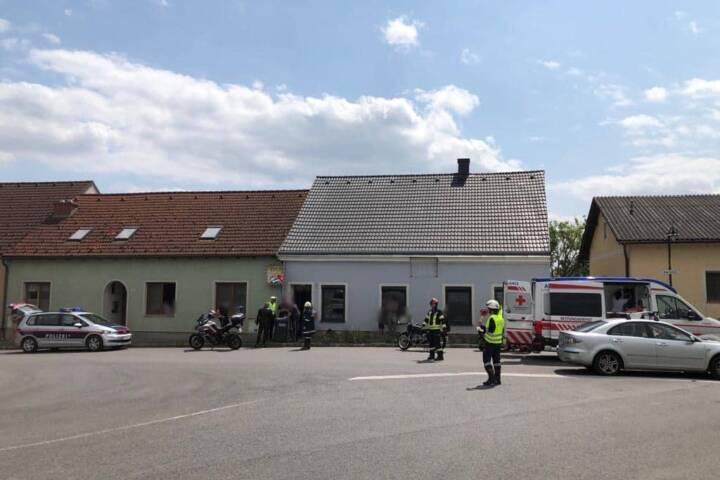 Verkehrsunfall in Gaisruck