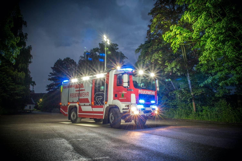 Neues Löschfahrzeug der Feuerwehr