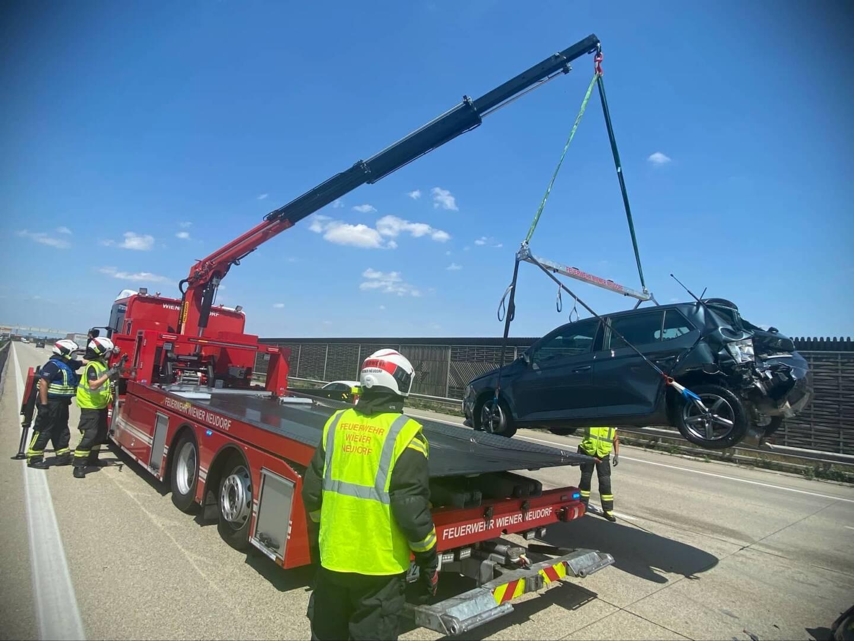 Zwei Verkehrsunfälle auf der A2