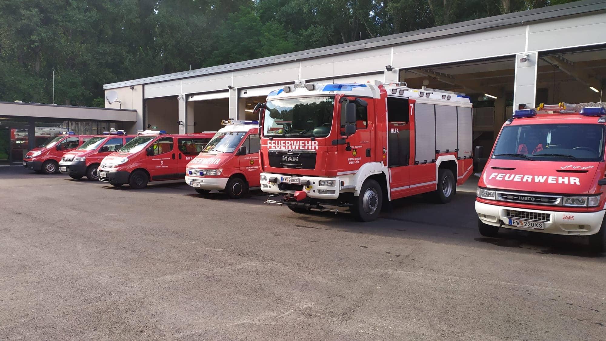 Neue Feuerwache Krems-Süd ist einsatzbereit