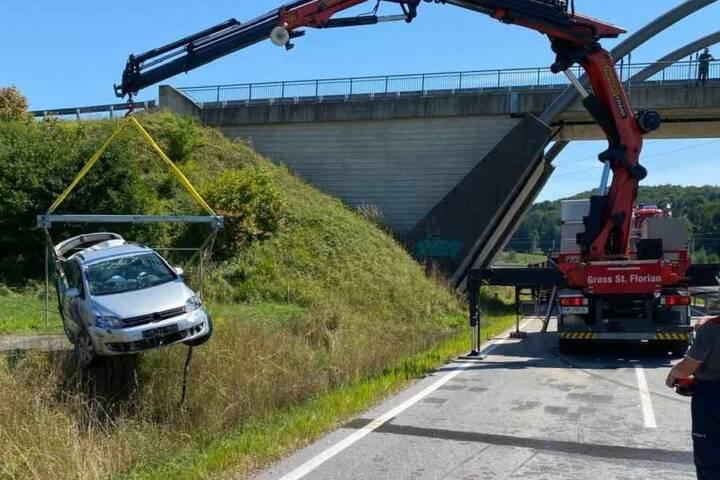 Verkehrsunfall in Groß St. Florian