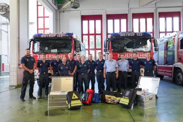 Wiener Feuerwehrleute unterstützen in nordmazedonischen Waldbrandgebieten