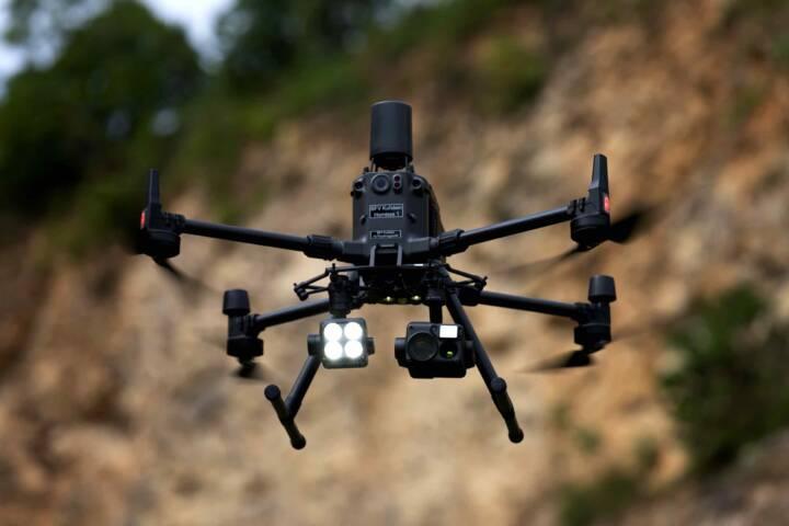 Drohnen zur Einsatzunterstützung
