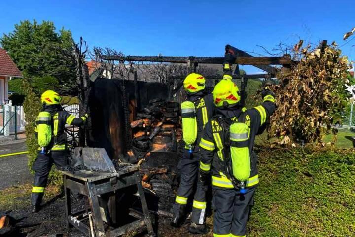 Brandeinsatz in Deutsch Kaltenbrunn