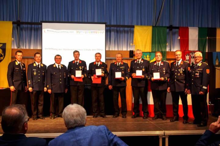 """Bezirksfeuerwehrtag unter dem Motto """"Feuerwehr.Zeitgeschichte"""""""
