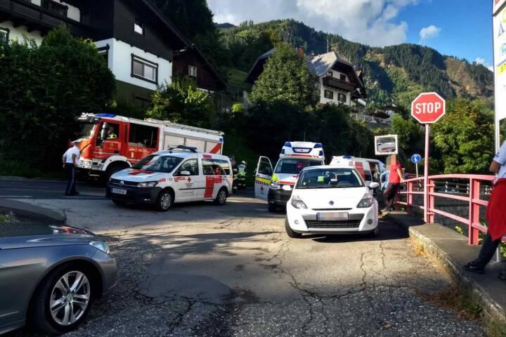 Verkehrsunfall B98 Höhe Starfach
