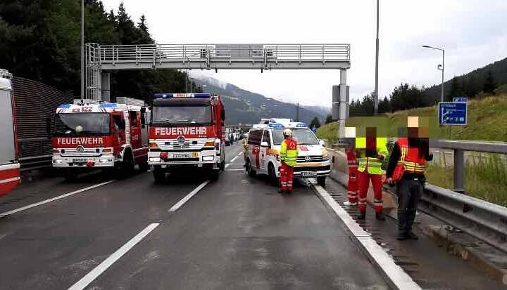 Lkw-Brand im Katschbergtunnel