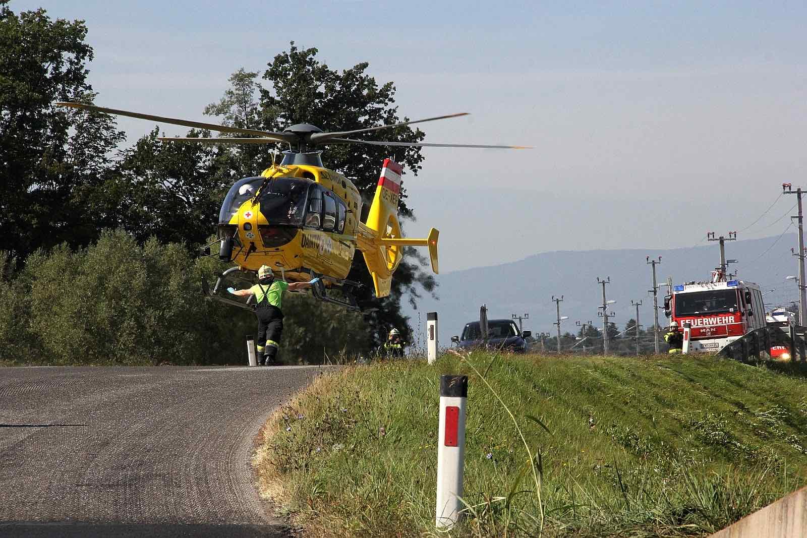 Schwerer Verkehrsunfall in Wettmannstätten