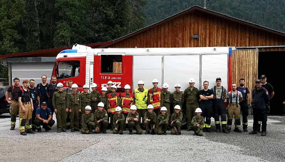 24-Stunden-Übung der Feuerwehrjugend