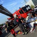 Rettung zweier Arbeiter in Wien - Simmering