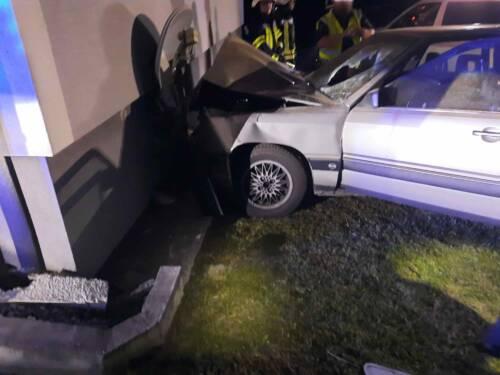 Schwerer Verkehrsunfall in Bad Gams
