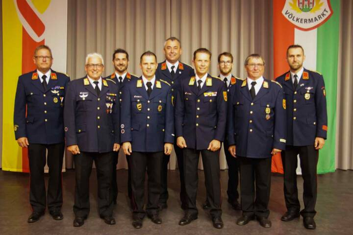 Wahl des Bezirksfeuerwehrkommandos