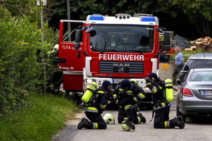 Wohnungsbrand in Krems