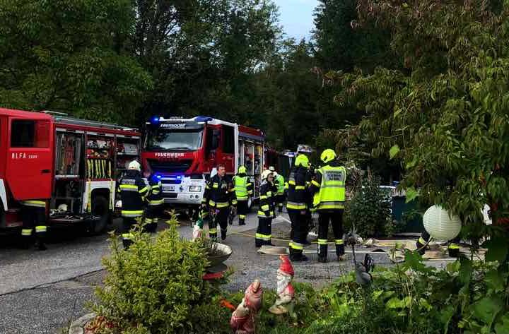 Wohnhausbrand in Altendorf