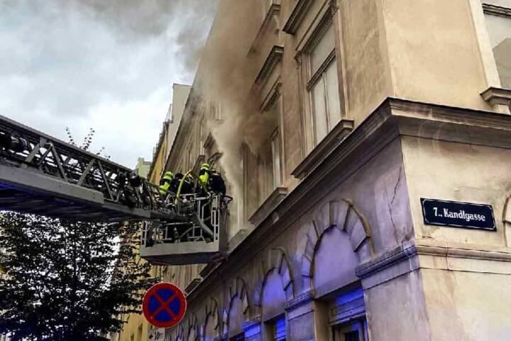 Zimmerbrand mit Todesfolge in Wien-Neubau