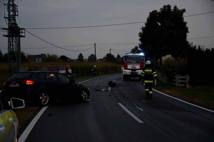 Verkehrsunfall in Pölfing-Brunn