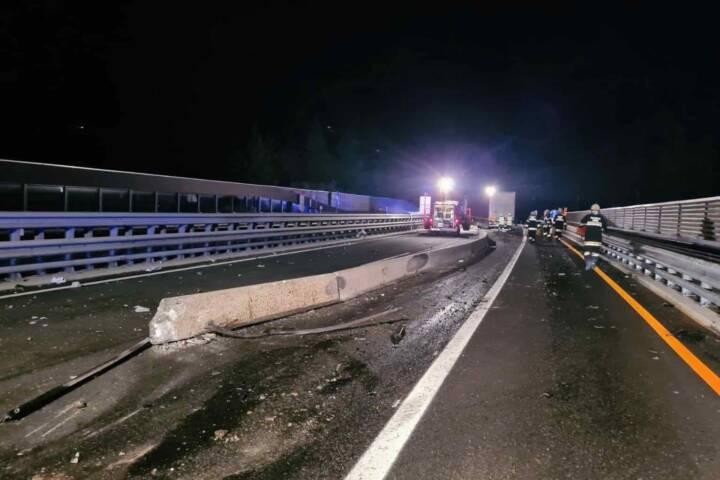 Verkehrsunfall auf der A10 Tauernautobahn