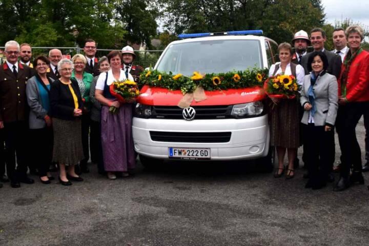 Feuerwehrfest und Fahrzeugsegnung