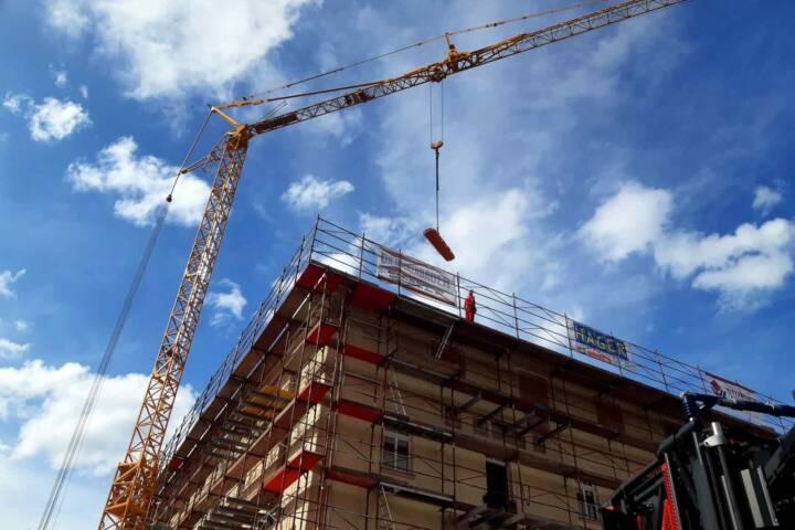 Arbeiter auf Baustelle verunfallt