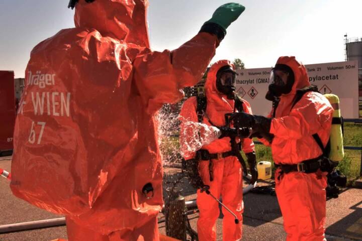 Schadstoffeinsatz in Wien – Simmering