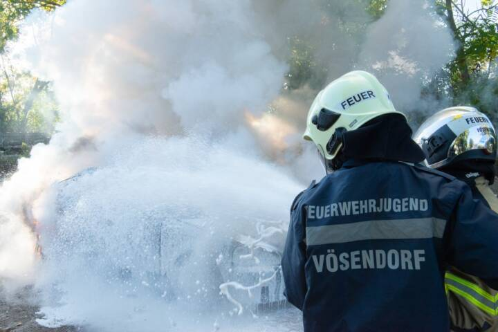 24h-Tag und Erprobung der Feuerwehrjugend Vösendorf