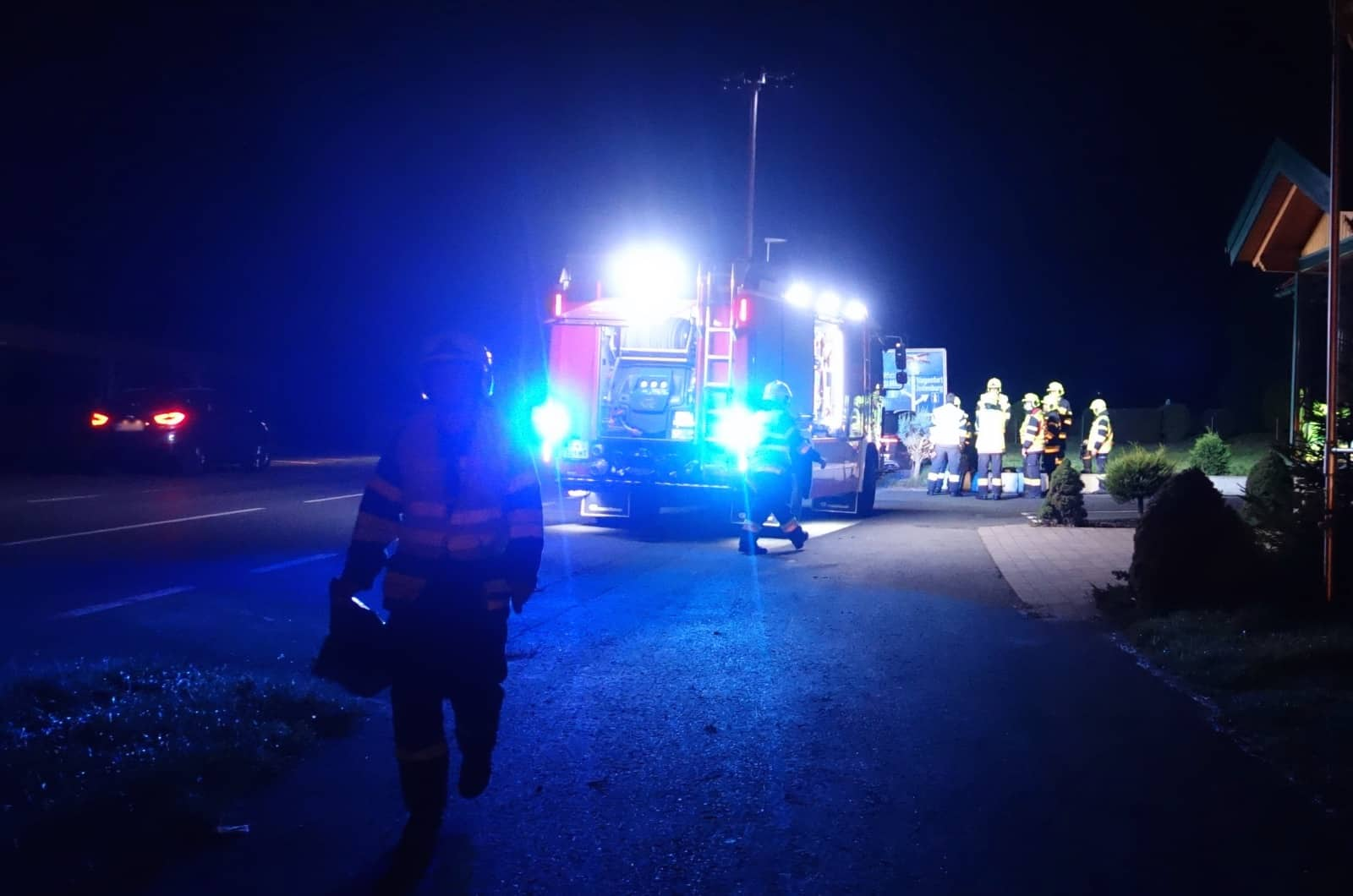 Verkehrsunfall auf der L518
