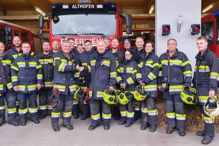 Feuerwehrarzt Dr. Michael Obmann feiert 50er