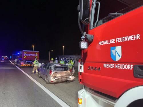 Zwei Verkehrsunf�lle - neun Unfallfahrzeuge